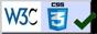 Valid CSS