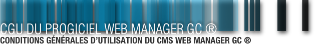 CGU - Web Manager GC ®