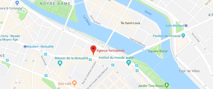 Agence formatweb ® 16 Boulevard Saint-Germain, 75005 Paris, France